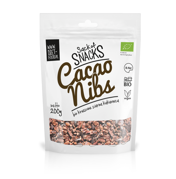 Frukost Raw Cacao Nibs