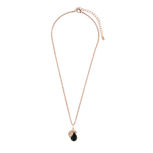 Load image into Gallery viewer, Otazu Drop Pendant Necklace Jetblack