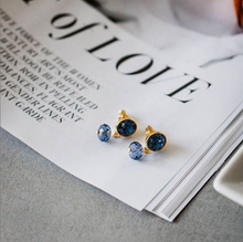 Load image into Gallery viewer, Otazu Classic Earrings Montana blue