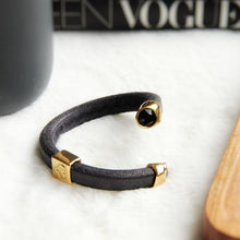 Load image into Gallery viewer, Jet Black Otazu Infinity bracelet