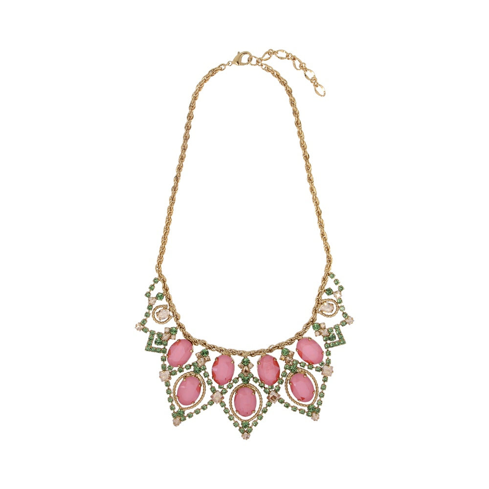 Otazu Waterfall Coralia Necklace small