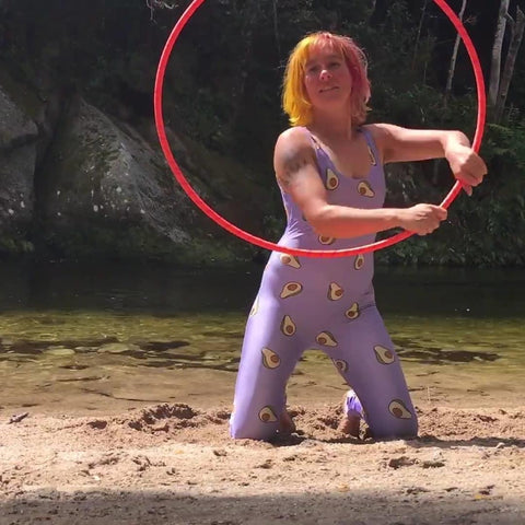 Hula hoop nz gift for exercise and fitness fun