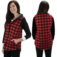 Role Reversal Plaid Vest