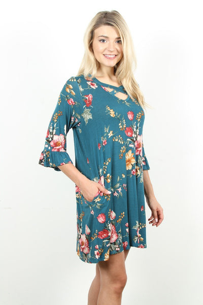 Floral Flare Tunic