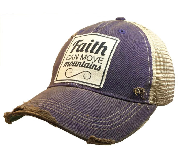 Trucker hat, Faith Can Move Mountains