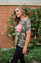Load image into Gallery viewer, Neon Camo Tee