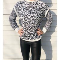 Leopard Print with White Trim - RTS