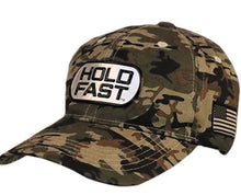 Load image into Gallery viewer, Hold Fast Camo Hat (Tag)