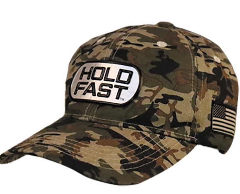 Hold Fast Camo Hat (Tag)