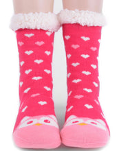 Load image into Gallery viewer, Pink Owl Socks