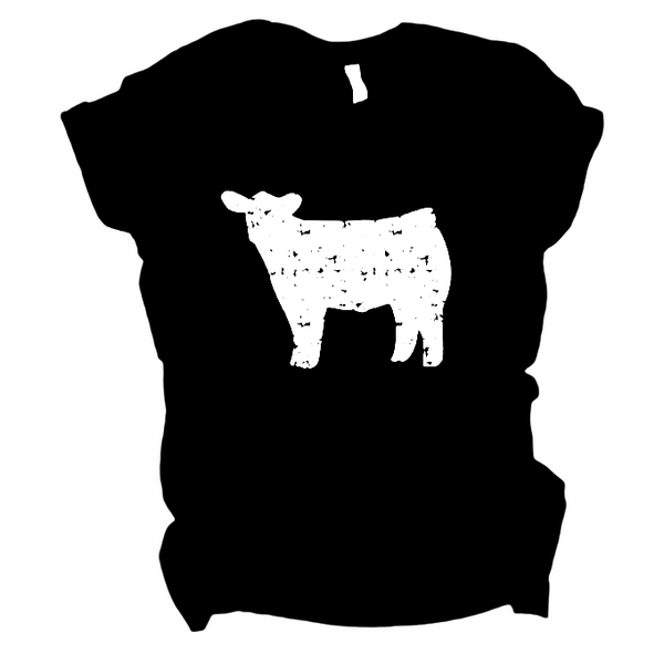 Cow - Graphic Tee - RTS