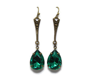 Drop Dead Vintage Dangle Jewel Earrings