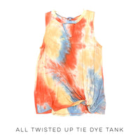 All Twisted Up Tie Dye Tank