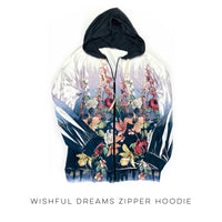 Wishful Dreams Zipper Hoodie