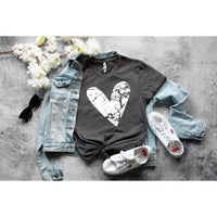Heart With Cross - Graphic Tee - RTS