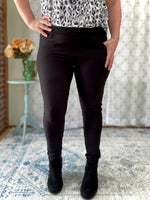 My Perfect Ponte Pants in Black