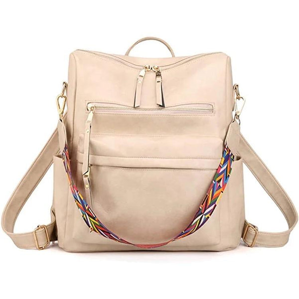 Back Pack with Guitar Strap - Cream - RTS