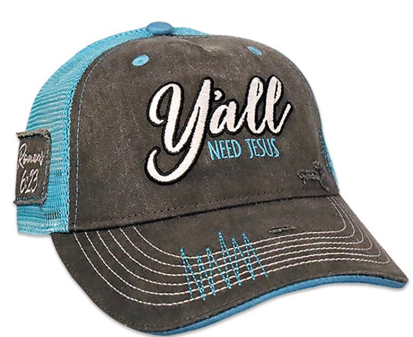 Y'all Need Jesus cap