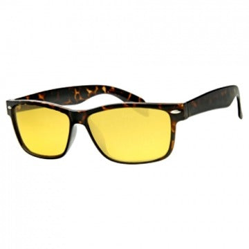 Ladies Wayfarer Night Driving Glasses