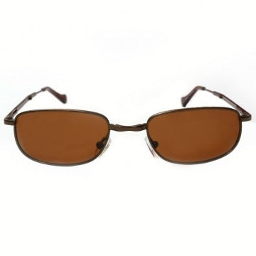 Folding Polarised Sunglasses- Monte Carlo Tan Lens (Small)