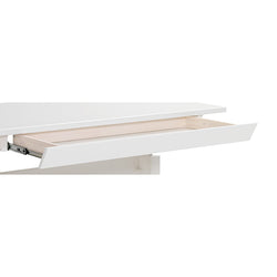 Drawer for height adjustable desk