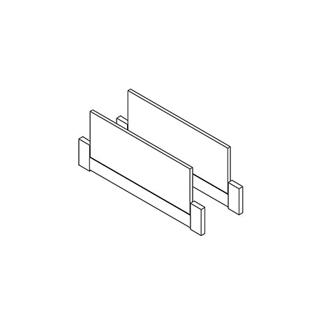 Head / foot end parts for cabin bed