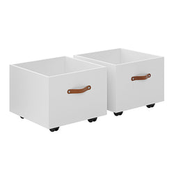 Storage boxes on castors