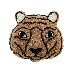 Tiger shaped cushion