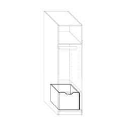 Drawer for 50 cm wardrobe base