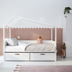 Cool Kids day-bed with hut