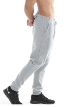 Golds Gym Embossed Jog Pants Grey