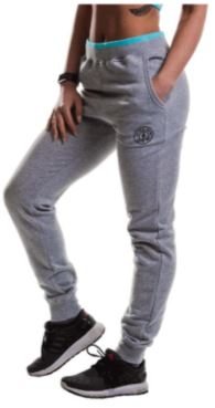 Golds Gym Ladies Fitted Joggers Grey
