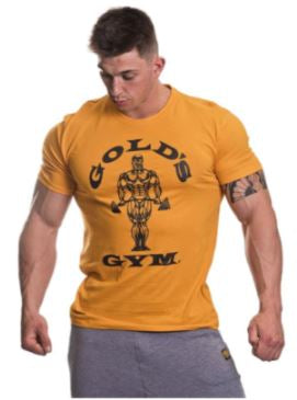 Golds Gym Classic Tee Gold