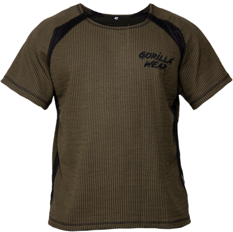 Gorilla Wear Augustine Workout Top Army Green