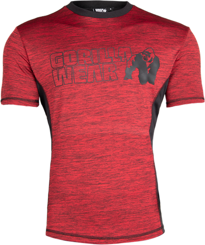 Gorilla Wear Austin Tee Red