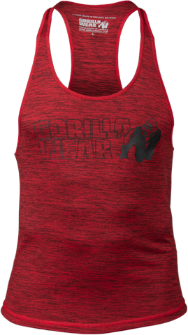 Gorilla Wear Austin Tank Red