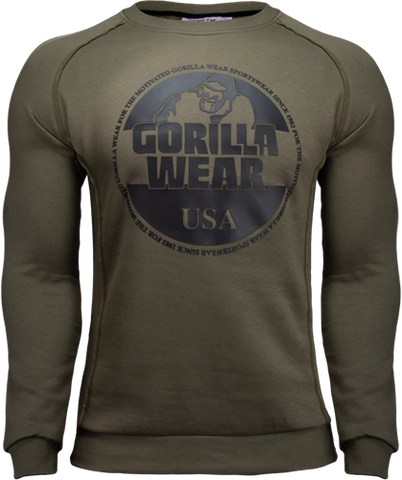 Gorilla Wear Bloomington Sweat Army Green