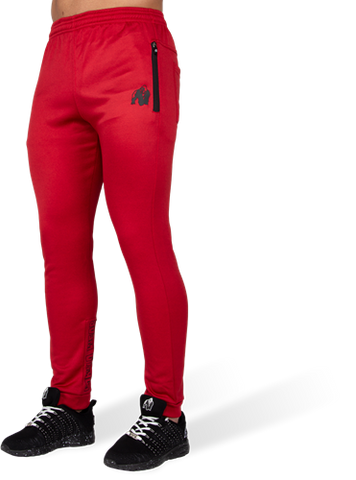 Gorilla Wear Bridgeport Joggers Red