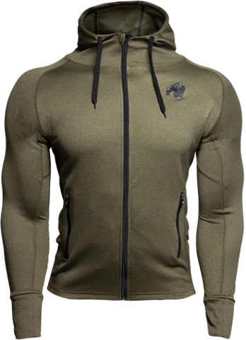 Gorilla Wear Bridgeport Hoodie Army Green