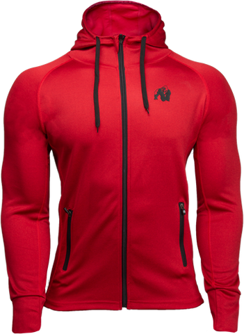 Gorilla Wear Bridgeport Hoodie Red