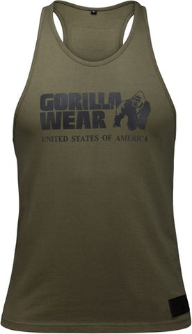 Gorilla Wear Classic Tank Army Green
