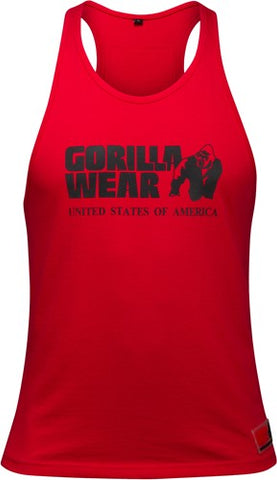 Gorilla Wear Classic Tank Red