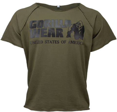 Gorilla Wear Classic Workout Top Army Green