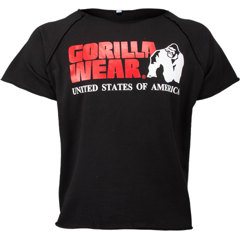 Gorilla Wear Classic Workout Top Black