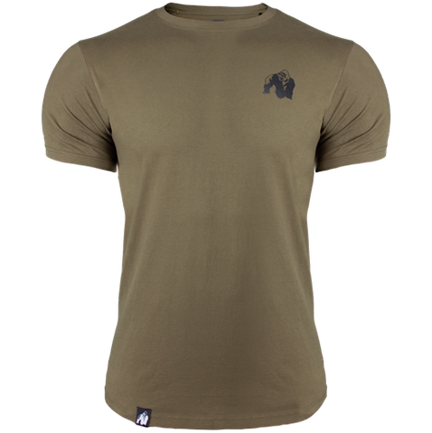 Gorilla Wear Detroit Tee Army Green