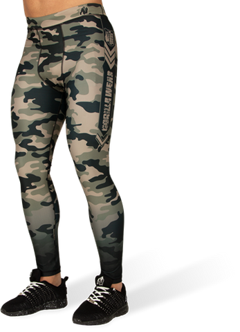 Gorilla Wear Franklin Tights Army Green Camo
