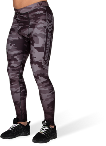 Gorilla Wear Franklin Tights Black Camo