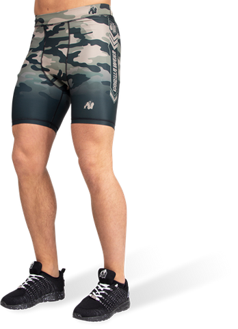 Gorilla Wear Franklin Shorts Army Green Camo