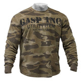 Gasp Thermal LS Sweater Camo Green