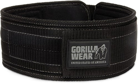 "Gorilla Wear 4"" Nylon Belt"